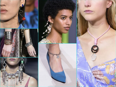 SUMMER Jewelry Trends 2018: necklace boom, fauna earrings and… FUR!